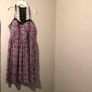 Cute pattern dresss